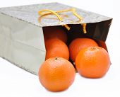 Package With  Mandarines