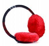 red earmuff