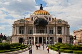 Palace of fine arts, Mexico City