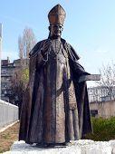 Monument Of Pope John Xxiii. Sofia, Bulgaria