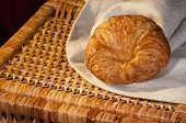 Freshly Made Breads Croissant Served For Breakfast