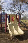 Playground Equipment Double Slide
