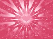 Rosy  Background For Holidays - Valentines Day poster