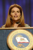 LONG BEACH - DEC 7: Maria Shriver at the California Governor's Conference on Women and Families at t