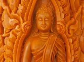 Buddha Candle,handmade