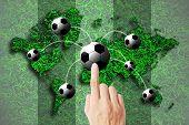 Hand Press Football World Cup