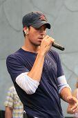 LOS ANGELES - JUN 12: Enrique Iglesias Enrique Iglesias performs live at the Hollywood & Highland co