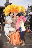 Gay Pride 2011 In Trafalgar Square London 2 July 2011