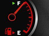 Gas Full Meter