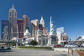 Las Vegas - September 25: New York-new York Resort On September 25, 2010. New York-new York Are Luxu