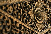 Stock Photo Of Wooden Pattern