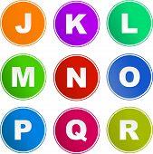 Alphabet Sign Icons