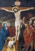 Jesus dies on the cros