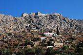 Horio vila, ilha de Halki