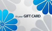 Blue Flower Giftcard