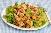 Blackened Chicken Breast Salad