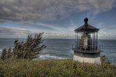 picture of mear  - Cape Meares Lighthouse located along the Oregon Coast - JPG