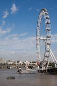 London Eye And Thames