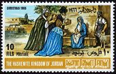 Postage Stamp Of Christmas