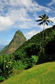 Overlooking The Piton