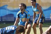 Gold Coast Titans Training