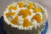Amateur orange cake