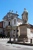 Church And Statue, Novara