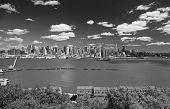 The Mid-Town Manhattan Skyline poster