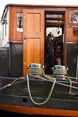 Captain Cabin On The Barge