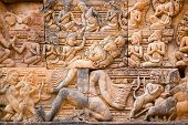 Ravana the Demon sculpture, Angkor