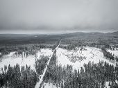 The Sumava National Park Or Bohemian Forest National Park Is A National Park In The South Bohemian R poster