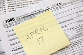 Tax filing deadline in 2012