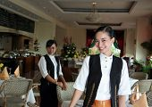 Waitress Or Restaurant Staff