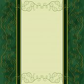 Vintage Background For Menu, Cover, Invitation Or Greeting Card