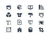 Afdrukken pictogrammen