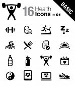 Basic - Health and Fitness icons