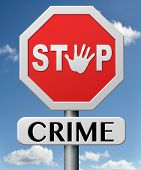 stop crime stopping criminals by neighborhood watch or police force fight criminal behavior stopping