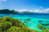 Vistas al mar y la Isla Tropical