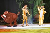 Timon, Pumbaa, And Simba