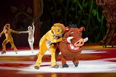 Timon And Pumbaa Hugging