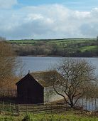 Boat House Loe Pool Cornwall