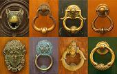 Composition of doorknockers