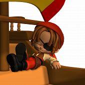 Little Pirate - Toon Figure