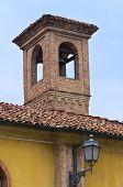 Iglesia de Santa María en la Cortina. Piacenza. Emilia-Romagna. Italia.