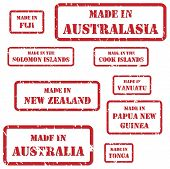 Made In Australasia Stamps