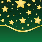 Seasonal Gold Stars
