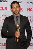 LOS ANGELES - SEP 27:  Wilmer Valderrama at the 2013 ALMA Awards - Press Room at Pasadena Civic Audi