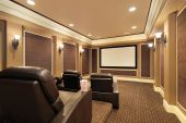 Home Theater In luxe huis