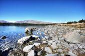 Lake Against A Blue Sky