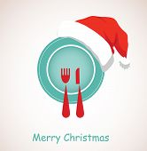 pic of christmas meal  - christmas dinner - JPG